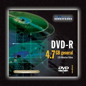 Ultron DVD-R 4.7GB,  25er-Pack