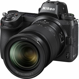 Nikon Z 7 with lens Z 24-70mm 4.0 S, mount adapter FTZ and memory card (VOA010K008)