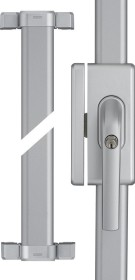 ABUS FOS650 S AL0089 silver, window-bar lock (73016)