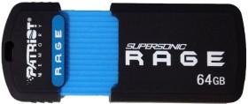 Patriot Supersonic Rage 64GB, USB-A 3.0 (PEF64GSRUSB)