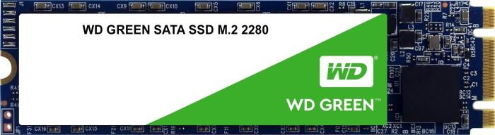 Western Digital WD Green SATA SSD 240GB, M.2 [2018] (WDS240G2G0B)