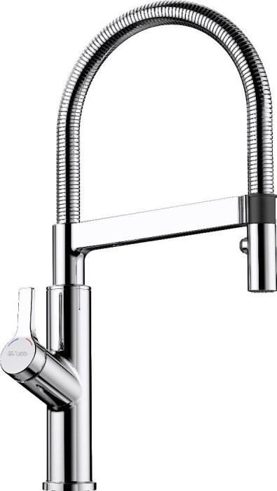 Blanco Solenta-S HD Senseo lever left chrome (523126)