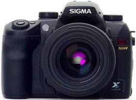 Sigma SD14 schwarz mit Objektiv AF 18-50mm 3.5-5.6 DC (V23900)