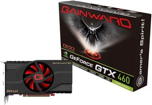 Gainward GeForce GTX 460, 768MB GDDR5, 2x DVI, mini HDMI (1145)