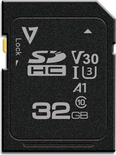 V7 R100/W85 SDXC 64GB, UHS-I U3, A1, Class 10 (VFSD64GV30U3-3)