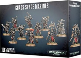 Games Workshop Warhammer 40.000 - Chaos Space Marines - Chaos Space Marines (99120102098)
