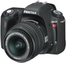 Pentax *istDL schwarz mit Objektiv DA 18-55mm und DA 50-200mm (1842601)