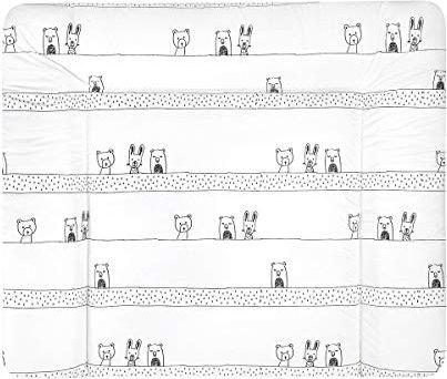 75x85 cm wasserdichter /& abwaschbarer Folienbezug Julius Z/öllner Wickelauflage Softy Wickel-Auflage mit 3-seitig abgestepptem Rand