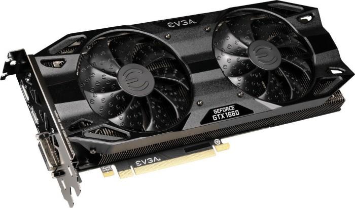 EVGA GeForce GTX 1660 XC Ultra Black Gaming, 6GB GDDR5, DVI, HDMI, DP (06G-P4-1165-KR)
