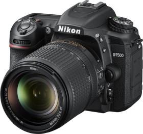 Nikon D7500 schwarz mit Objektiv AF-S DX 35mm und AF-S VR DX 18-140mm (VBA510K008)