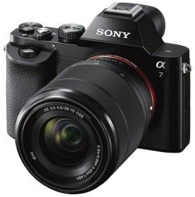 Sony Alpha 7K schwarz mit Objektiv AF E 28-70mm 3.5-5.6 OSS (ILCE-7K)