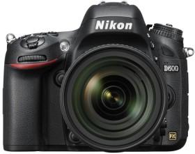 Nikon D600 schwarz mit Objektiv AF-S VR 24-85mm 3.5-4.5G ED (VBA340K001)