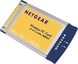 Netgear MA521, Cardbus