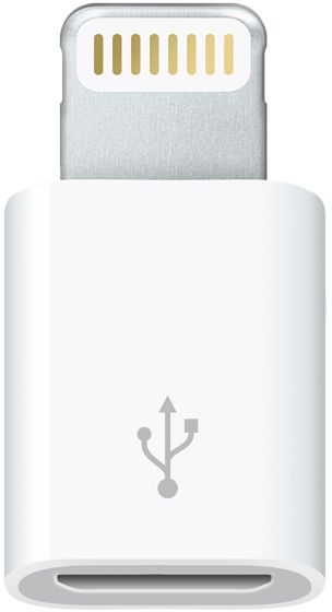 Apple Lightning/Micro-USB Adapter (MD820ZM/A)