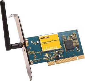Netgear WG311, PCI