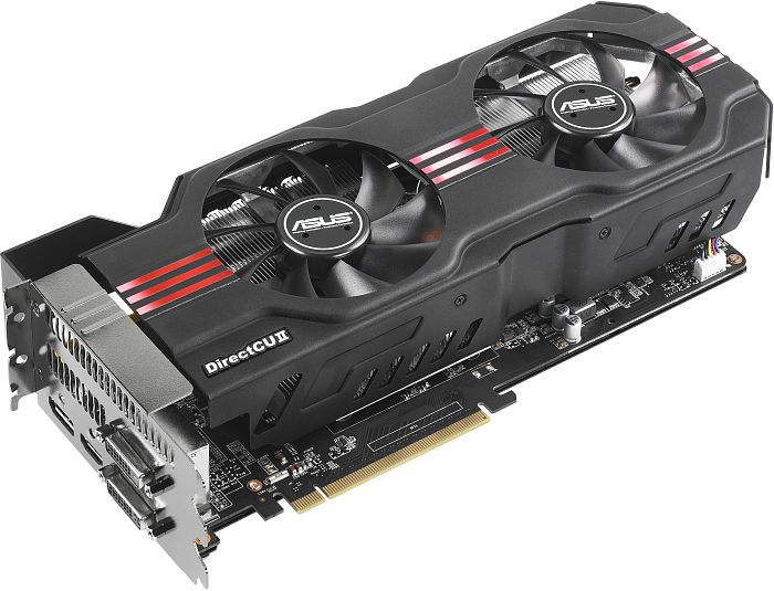 ASUS GTX680-DC2T-2GD5 DirectCU II TOP, GeForce GTX 680, 2GB GDDR5, 2x DVI, HDMI, DisplayPort (90-C1CS21-S0UAY0BZ)