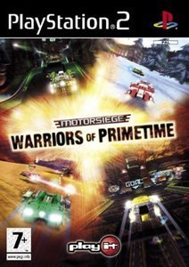 Motorsiege - Warriors of Primetime (German) (PS2)