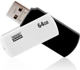 goodram UCO2 Color 64GB schwarz/weiß, USB-A 2.0 (UCO2-0640KWR11)