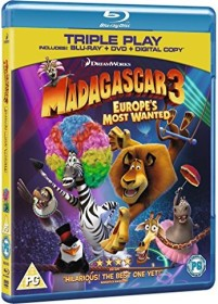 Madagascar 3 - Europe's Most Wanted (3D) (Blu-ray) (UK)