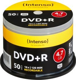 Intenso DVD+R 4.7GB 16x, 50er Spindel (4111155)