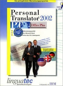 Linguatec: Personal Translator 2002 Office Plus Deutsch/Englisch (PC)