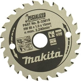 Makita Specialized circular saw blade 85x1x15mm 24Z, 1-pack (B-33819)