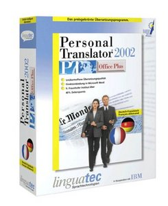Linguatec: Personal Translator 2002 Office Plus German/French (PC)