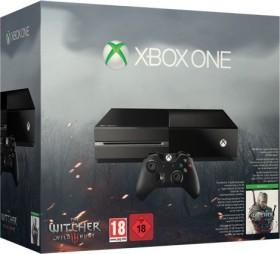 Microsoft Xbox One - 500GB The Witcher 3: Wild Hunt Bundle schwarz