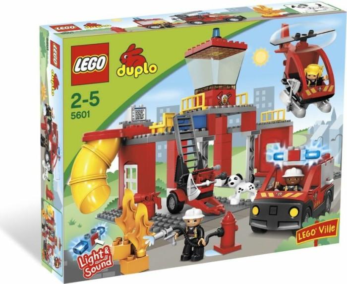 LEGO DUPLO Polizei & Feuerwehr - Feuerwehrstation (5601) -- via Amazon Partnerprogramm