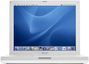 "Apple iBook G4, 14.1"", 1.00GHz, 256MB, SuperDrive"