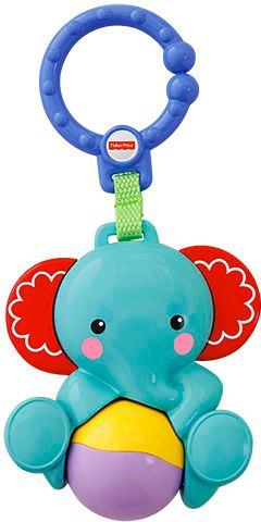 Mattel Fisher-Price Rattle Teether Elephant (CBK74)