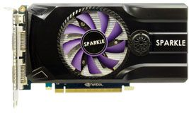 Sparkle GeForce GTX 460,  768MB GDDR5, 2x DVI, Mini HDMI (SXX460768D5NM)