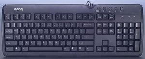 BenQ X-Touch 800 Black keyboard, PS/2 (99.POY81.81G)