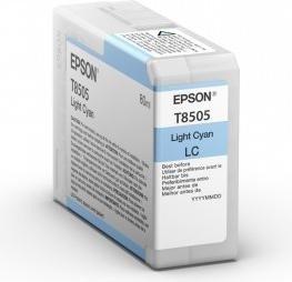 Epson Tinte T8505 Ultrachrome HD cyan hell (C13T850500)
