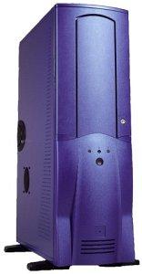Chieftec Scorpio TA-10BLD, Big-Tower with door, blue (various Power Supplies)