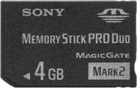 Sony Memory Stick [MS] Pro Duo Mark2 4GB (MSMT4G)