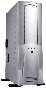 Chieftec Scorpio TA-10SLD, Big-Tower with door, silver (various Power Supplies)