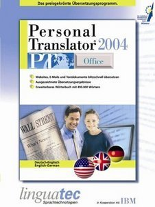 Linguatec: Personal Translator 2004 Office niemiecki/angielski (PC)