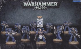 Games Workshop Warhammer 40.000 - Space Marines - Tactical Squad (99120101216)