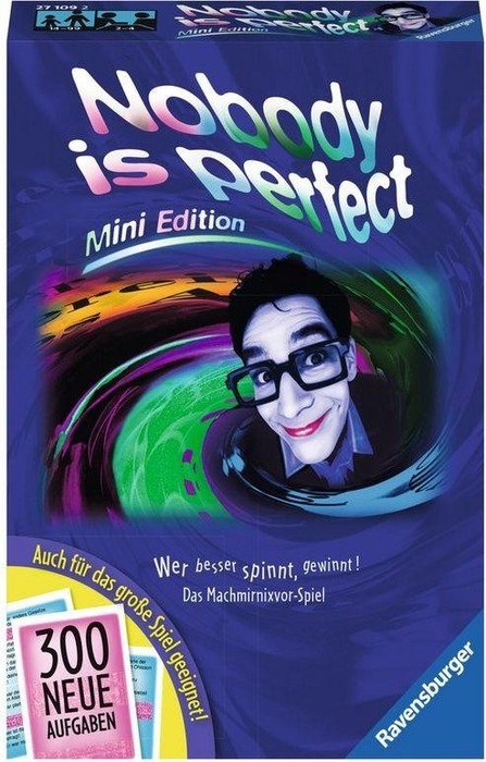 Nobody is perfect - Mini Edition