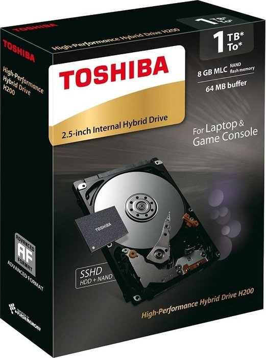 Toshiba H200 High-Performance hybryda 1TB, SATA 6Gb/s, retail (HDWM110EZSTA)