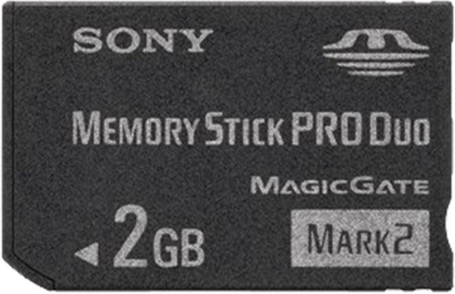 Sony Memory Stick (MS) Pro Duo Mark2 2GB (MSMT2G) -- http://bepixelung.org/19203