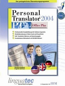 Linguatec: Personal Translator 2004 Office Plus niemiecki/angielski (PC)