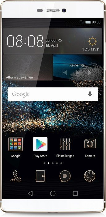 Huawei P8 weiß/gold