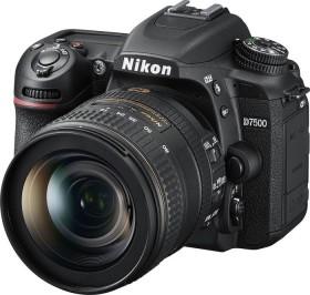 Nikon D7500 schwarz mit Objektiv AF-S VR DX 16-80mm 2.8-4.0E ED (VBA510K005)