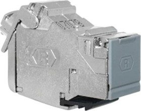 Rutenbeck UM-Cat.6A iso 10G Universalmodul, shielded, for Keystone-Modulausschnitte (13900304)