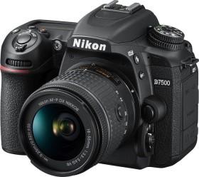 Nikon D7500 schwarz mit Objektiv Fremdhersteller