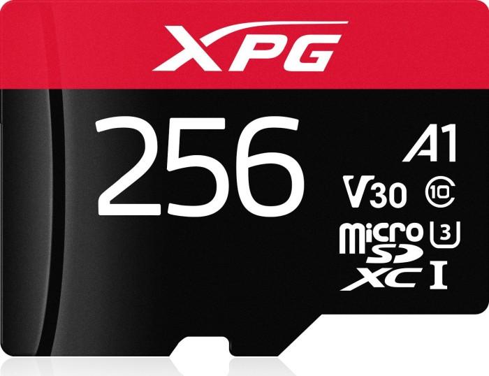ADATA XPG R100/W85 microSDXC 256GB, UHS-I U3, A1, Class 10 (AUSDX256GUI3XPGA1-R)