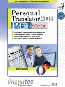 Linguatec: Personal Translator 2004 Office Plus Deutsch/Französisch (PC)