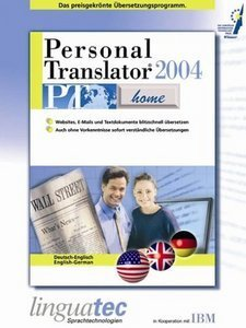 Linguatec: Personal Translator 2004 Home German/English (PC)